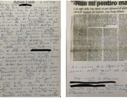 Lettere Cutolo