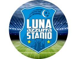 Logo Luna Azzurra Stadio su TV Luna