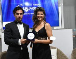Yari Cecere e Maddalena Stornaiuolo al Premio Cinema Campania